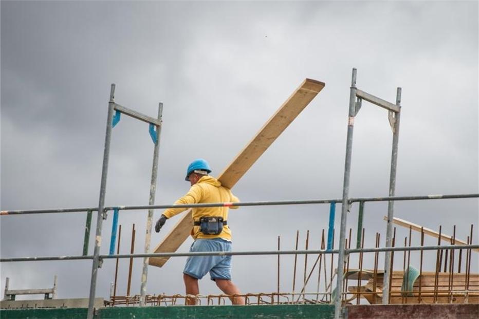 Mindestlohn auf dem Bau soll steigen