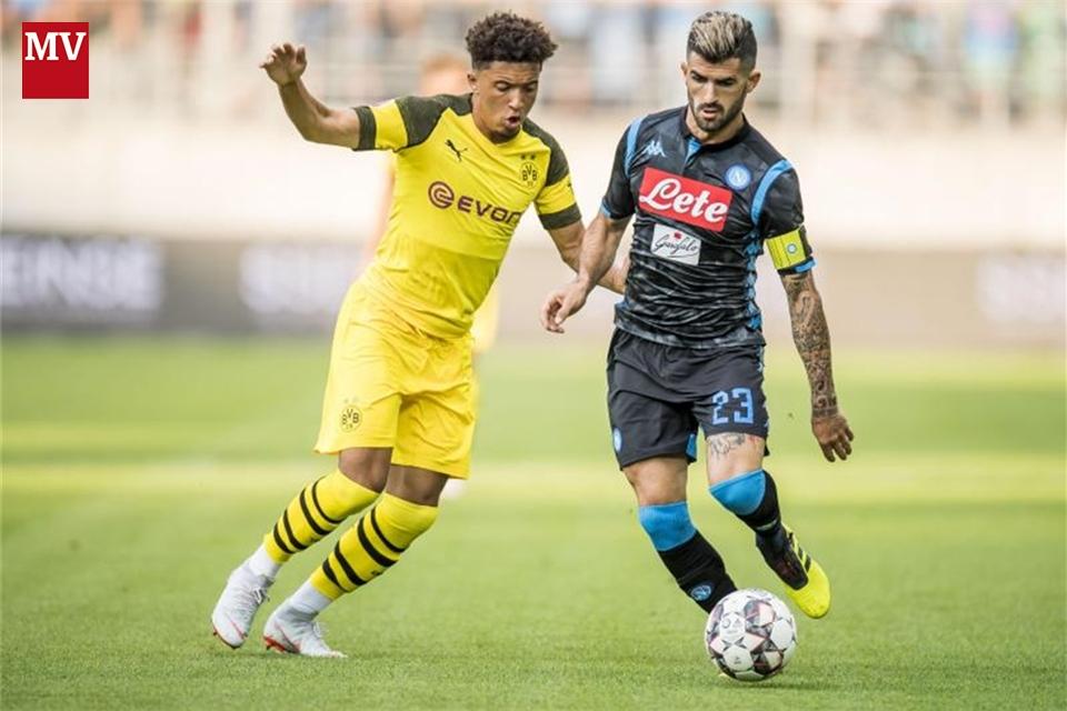 BVB Verliert Test Gegen Neapel Mit 1 3