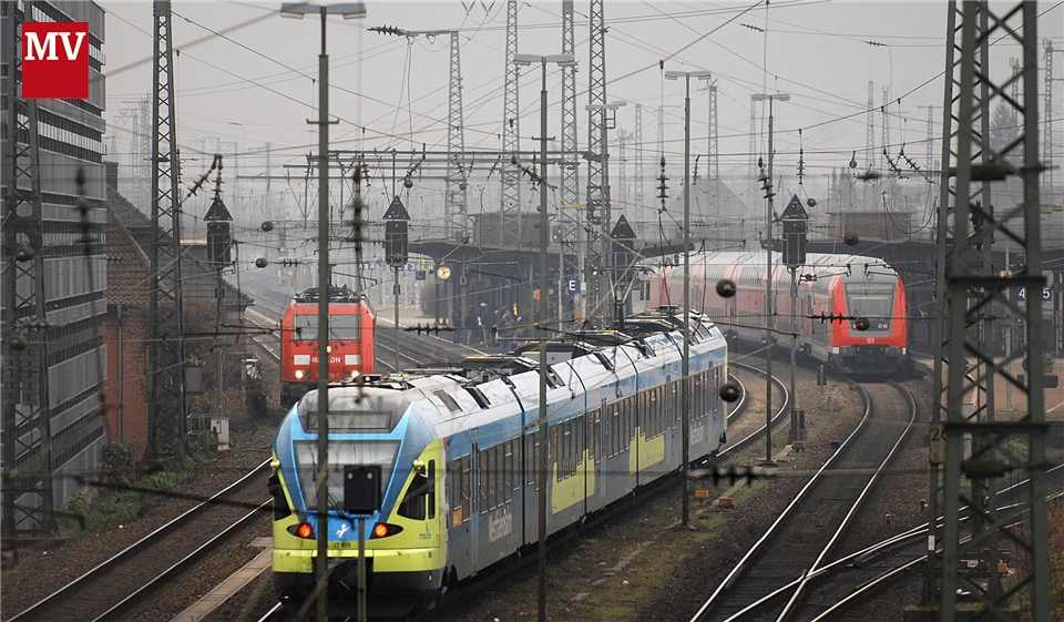 Bahnstreik Dienstag