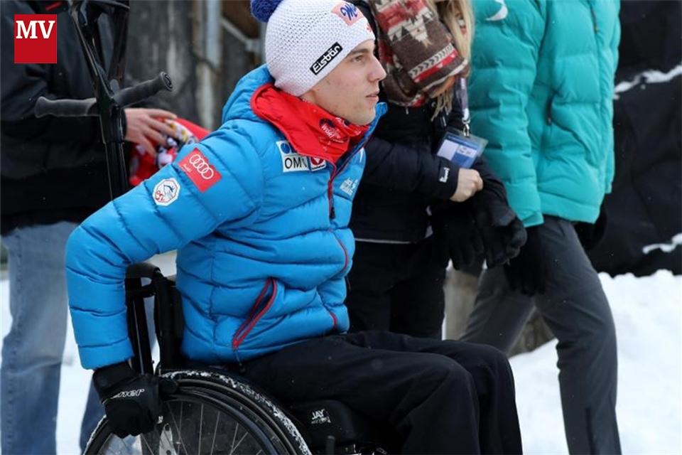 Skispringer Müller